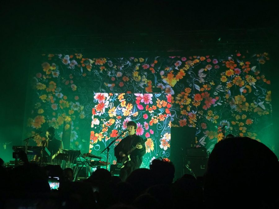 VanWyngarden+and+Goldwasser+perform+live+at+the+Southside+Ballroom.+
