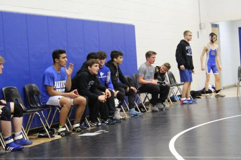 Wrestling Team Fights Through Another Season