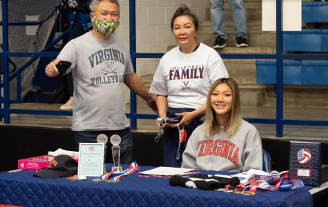 Ashley Le, Volleyball, University of Virginia
