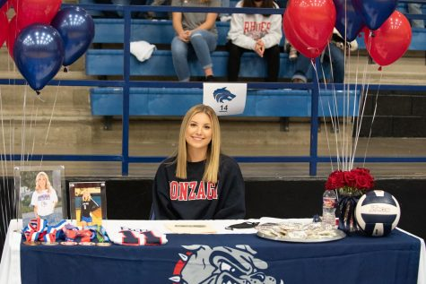 Avery Lowe, Volleyball, Gonzaga University