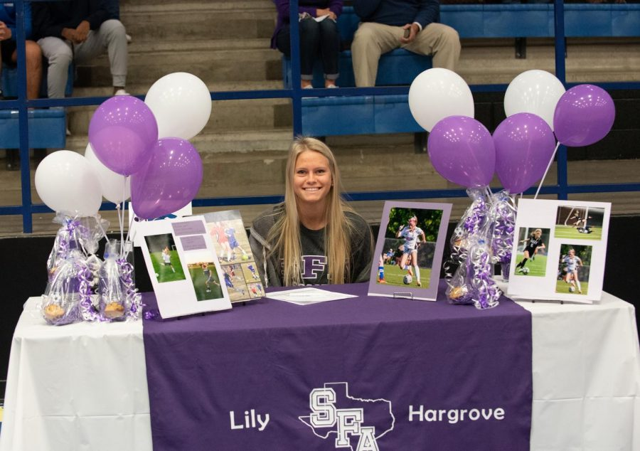 Lily Hargrove, Girls Soccer, Stephen F Austin State University