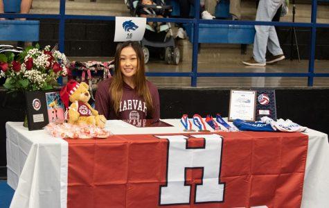 Lindsey Zhang, Volleyball, Harvard University