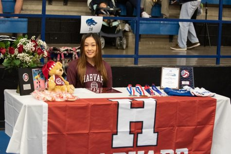 Lindsey Zhang, Volleyball, Harvard University