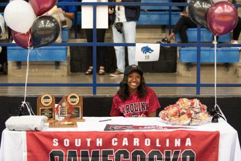 Morgan Carter, Volleyball, University of South Carolina