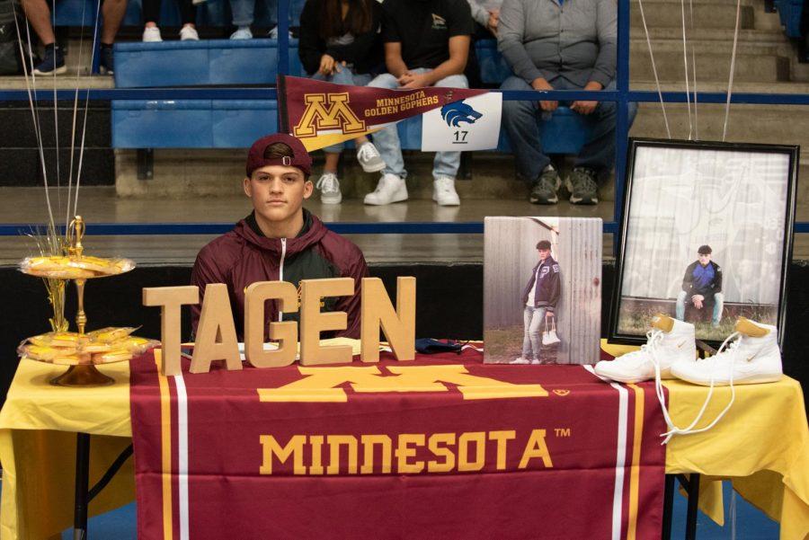 Tagen Jamison, Wrestling, University of Minnesota