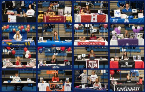 Sixteen Athletes Sign with Colleges