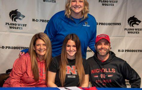 Maddie Friedmann, Soccer, Nicholls State
