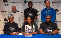 Navigation to Story: Michelle Ogbemudia, track and field, Stephen F Austin State