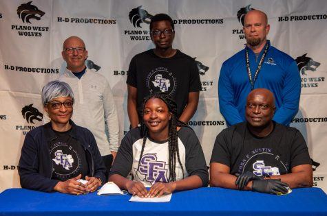 Michelle Ogbemudia, track and field, Stephen F Austin State