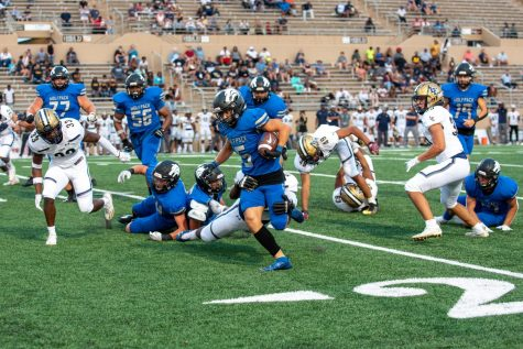 Football begins the year with a 2-2 record